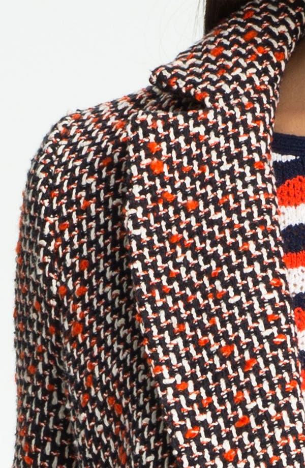 Alternate Image 3  - Milly 'Alegra' Tweed Coat