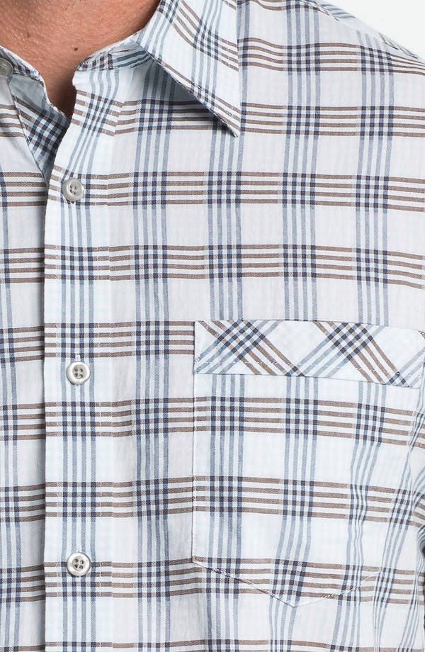 Alternate Image 3  - James Campbell 'Blum Plaid' Sport Shirt
