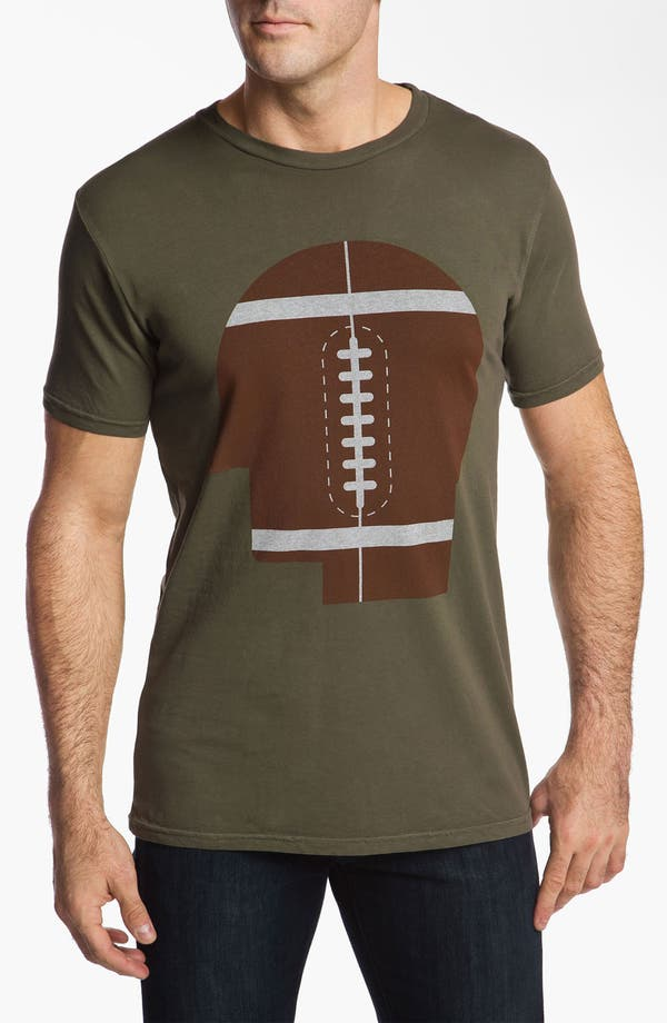 Alternate Image 1 Selected - PalmerCash 'Football on My Mind' T-Shirt