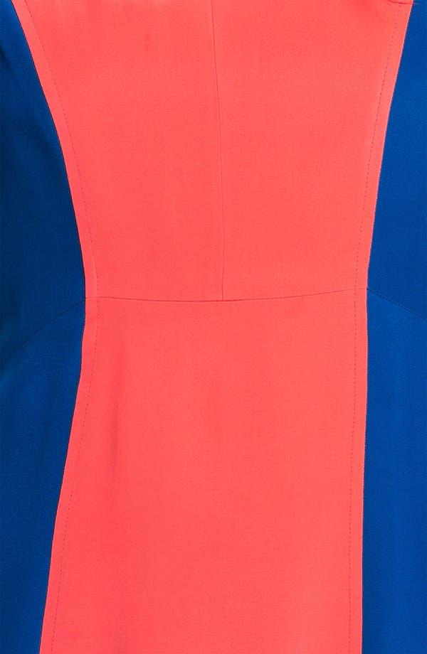 Alternate Image 3  - Rebecca Minkoff 'Katya' Colorblock Silk Dress
