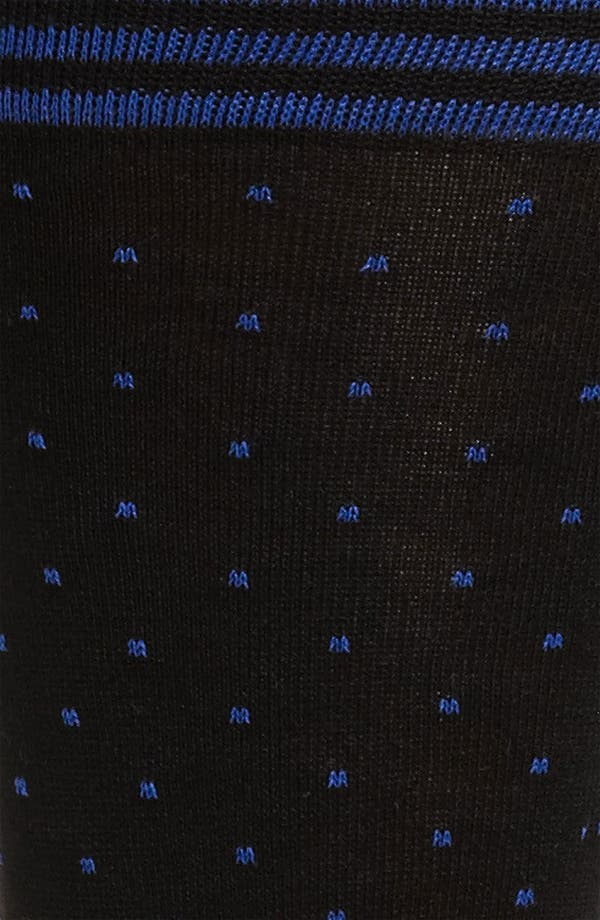 Alternate Image 2  - Bugatchi Uomo Dot Socks