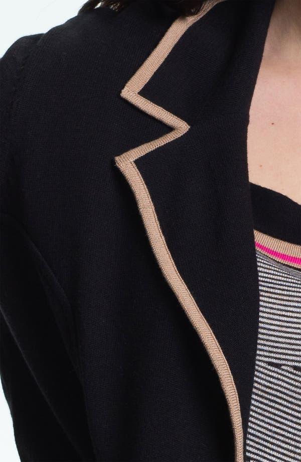 Alternate Image 3  - Nic + Zoe Tipped Knit Jacket (Plus)