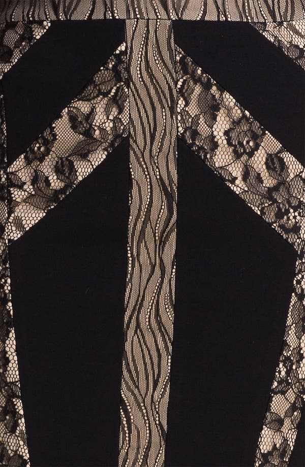 Alternate Image 3  - BCBGMAXAZRIA 'Raina' Techno Knit Sheath Dress