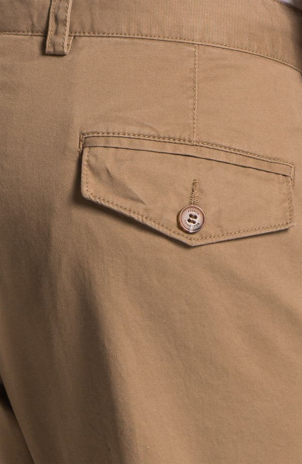 Alternate Image 3  - French Connection Flat Front Chinos