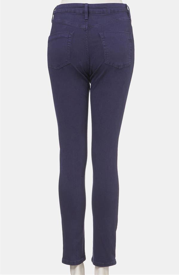 Alternate Image 2  - Topshop Moto 'Jamie' High Waist Skinny Jeans