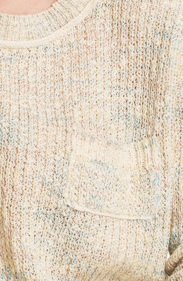 Alternate Image 3  - Free People 'Sweet Jane' Lace Back Sweater