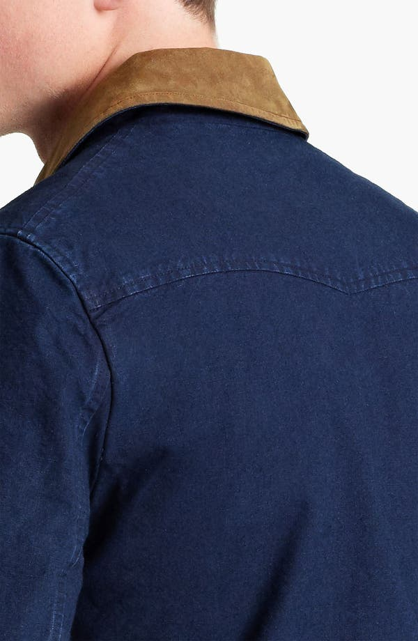 Alternate Image 3  - A.P.C. Denim Bomber Jacket