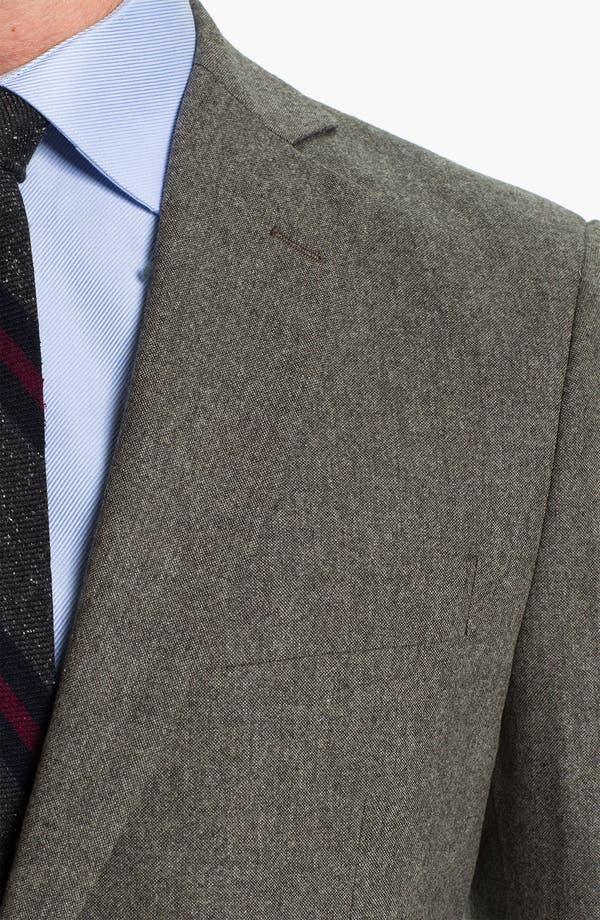Alternate Image 6  - Brooks Brothers Tweed Wool Suit
