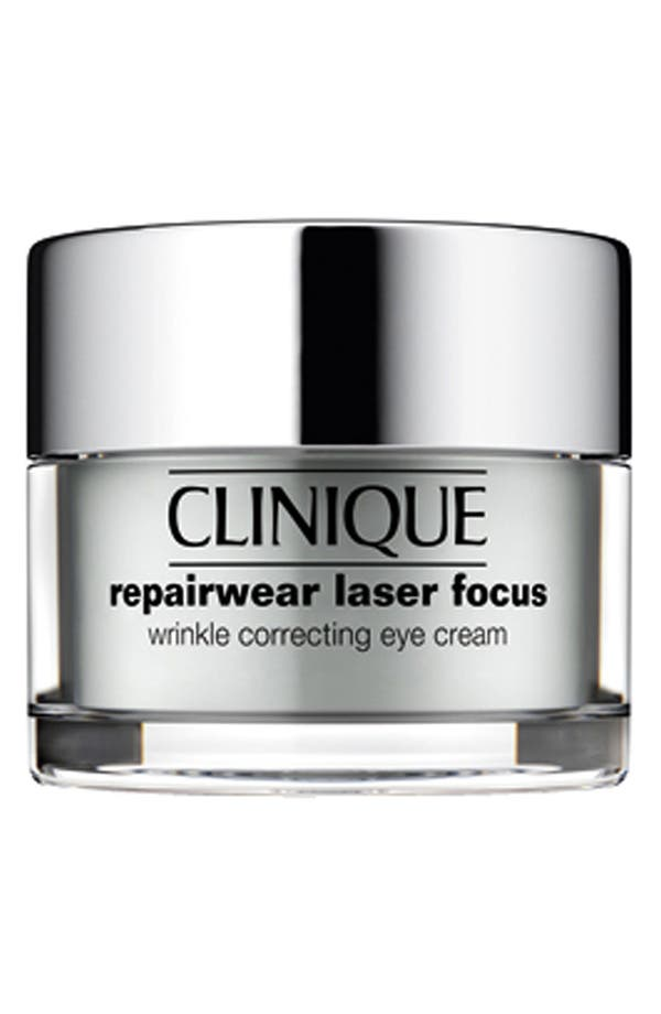Alternate Image 1 Selected - Clinique 'Repairwear Laser Focus' Wrinkle Correcting Eye Cream