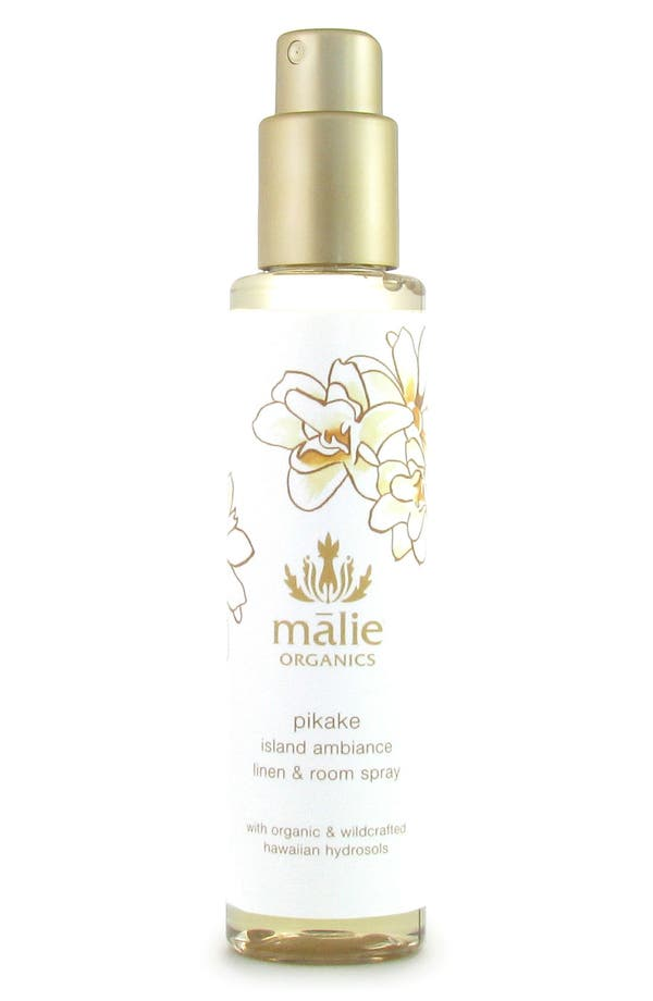 Alternate Image 1 Selected - Malie Organics Pikake Organic Linen & Room Spray