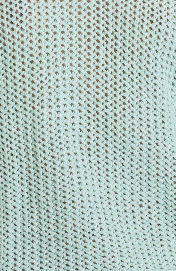 Alternate Image 3  - Trouvé Sheer Lattice Cutout Sweater