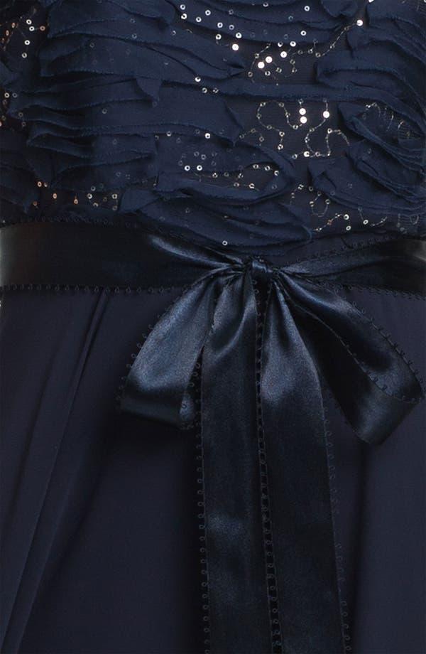 Alternate Image 4  - Patra Embellished Chiffon Gown & Jacket