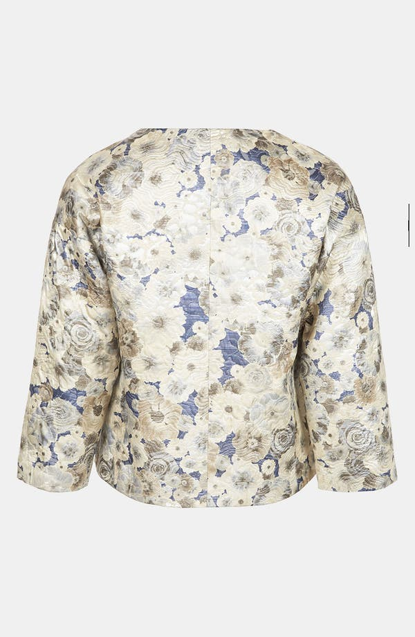 Alternate Image 2  - Topshop Floral Jacquard Jacket