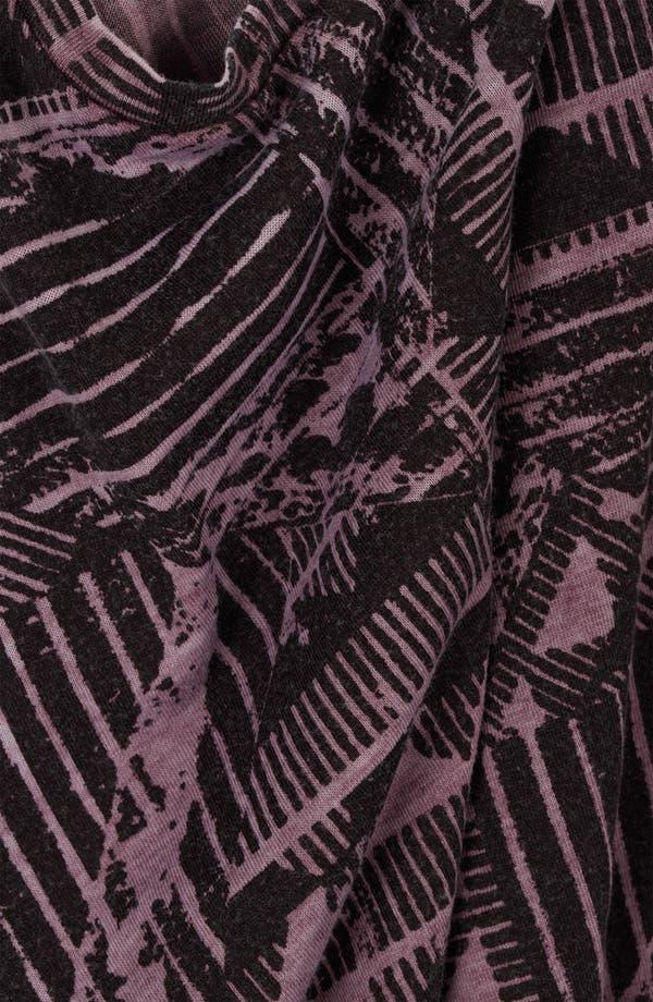 Alternate Image 3  - Topshop Aztec Print Burnout Tee
