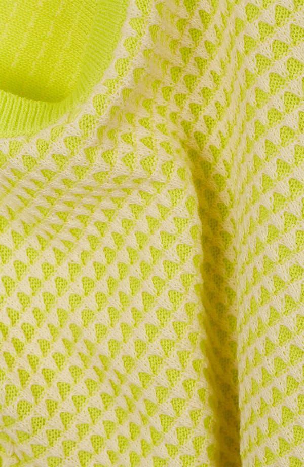 Alternate Image 3  - Topshop Neon Crop Sweater