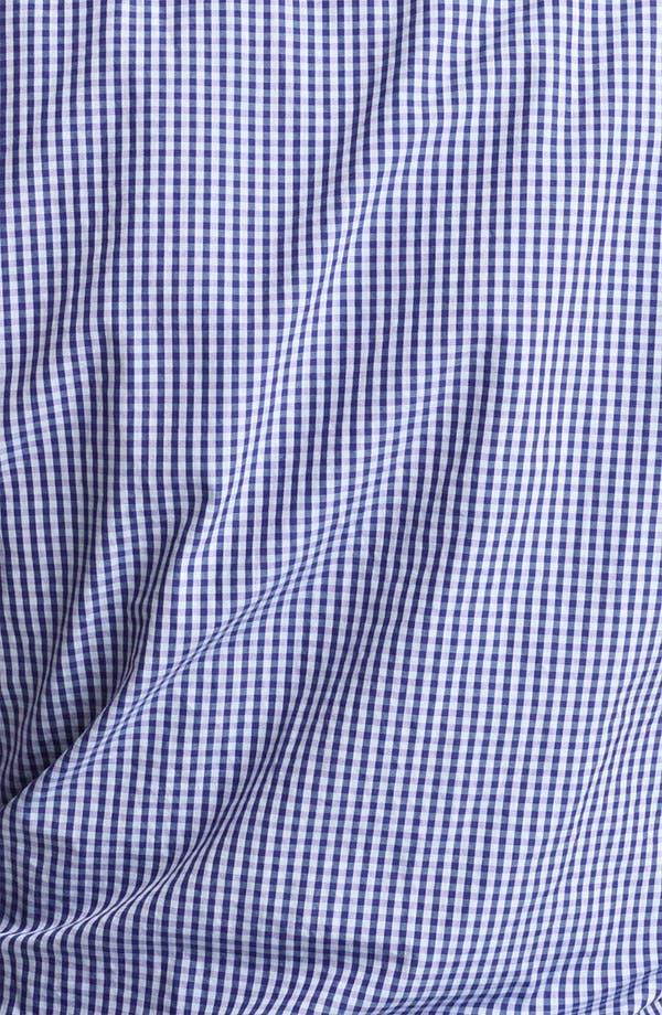 Alternate Image 3  - Armani Collezioni Gingham Sport Shirt