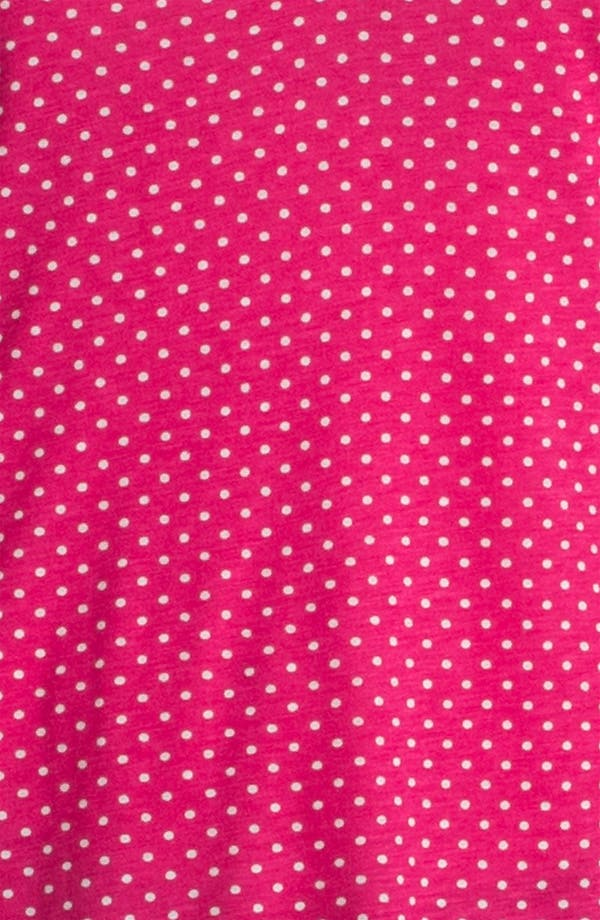 Alternate Image 3  - Pleione Half Placket Mini Dot Top (Petite)