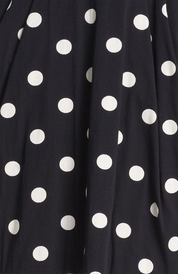 Alternate Image 3  - Betsey Johnson Polka Dot Ponte Knit Dress