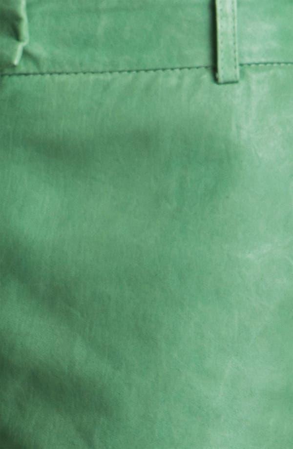 Alternate Image 3  - Rachel Zoe 'Justin' Leather Shorts
