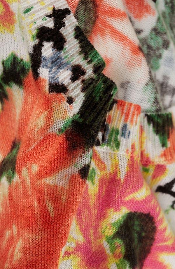 Alternate Image 3  - Topshop Floral Print Sweater