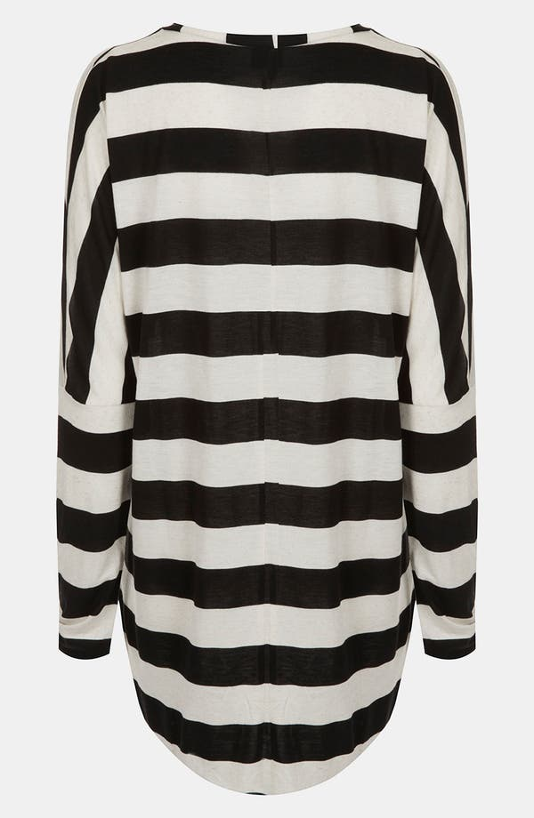 Alternate Image 2  - Topshop Stripe Slubbed Maternity Top