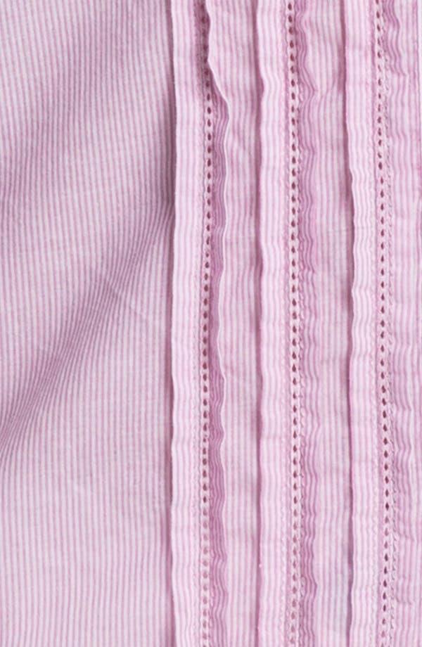 Alternate Image 3  - Caslon Pleat Front Blouse