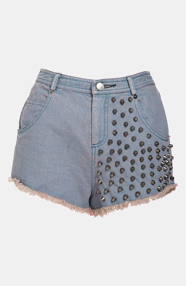 Alternate Image 1 Selected - ASTR Studded Shorts