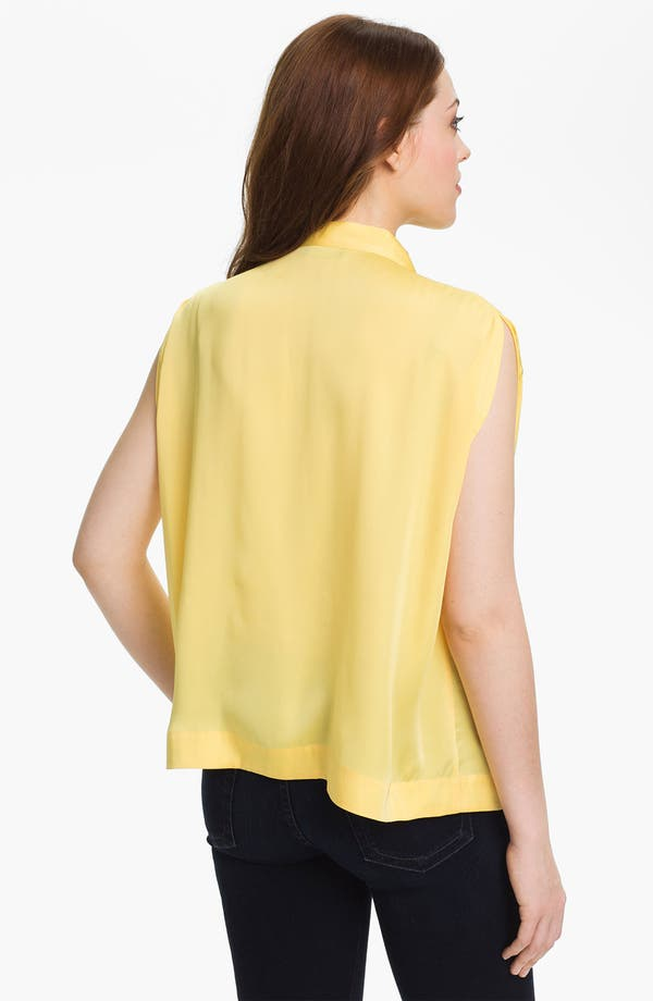 Alternate Image 2  - Vince Camuto Tie Neck Blouse