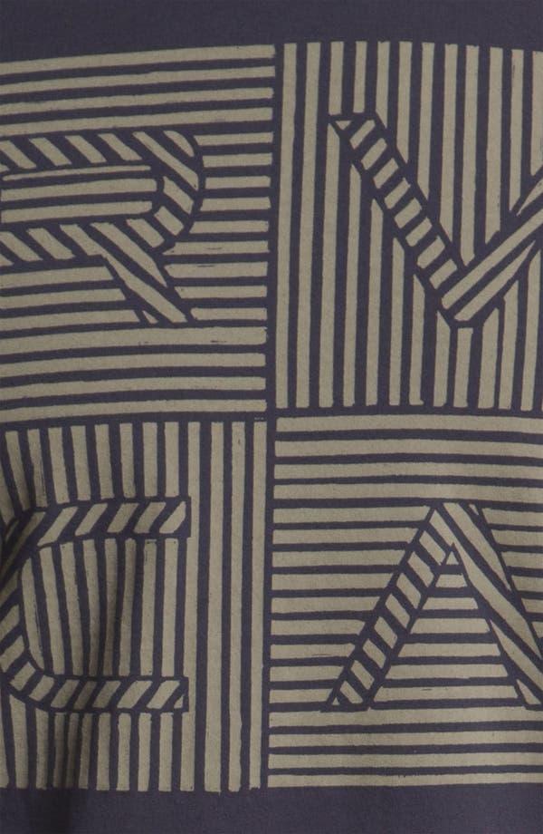 Alternate Image 3  - RVCA 'Lines & Lines' T-Shirt