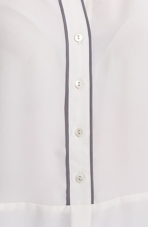 Alternate Image 3  - Nic + Zoe Sequin Collar Sleeveless Blouse (Petite)