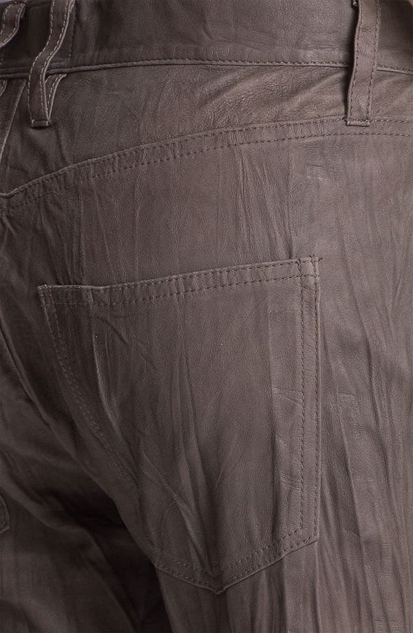 Alternate Image 3  - Current/Elliott 'The Boyfriend' Featherweight Leather Pants