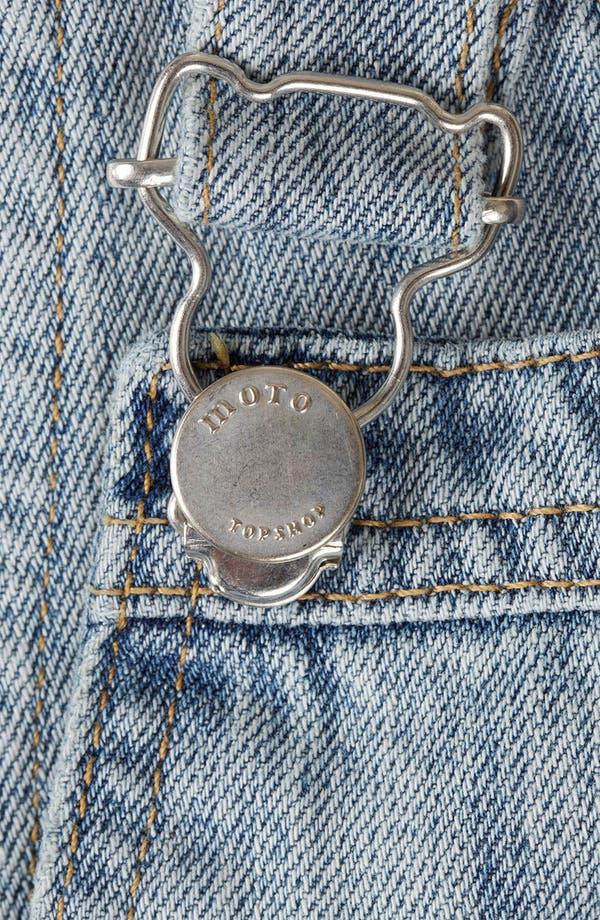 Alternate Image 3  - Topshop Moto 'Tommy' Vintage Overalls