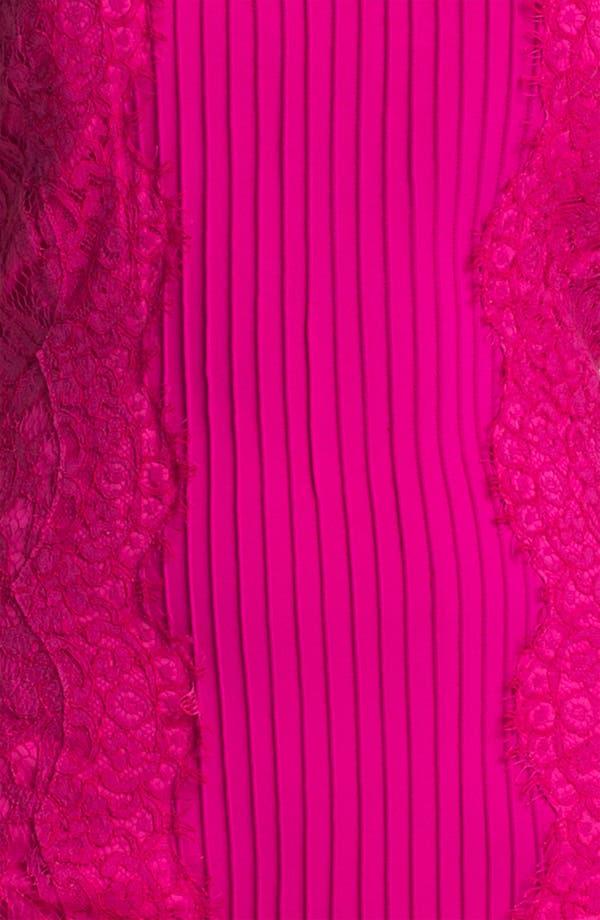 Alternate Image 3  - Tadashi Shoji Lace Blocked Sheath Dress
