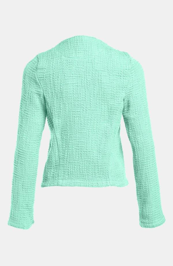 Alternate Image 2  - Go Make Noise Textured Drape Front Jacket