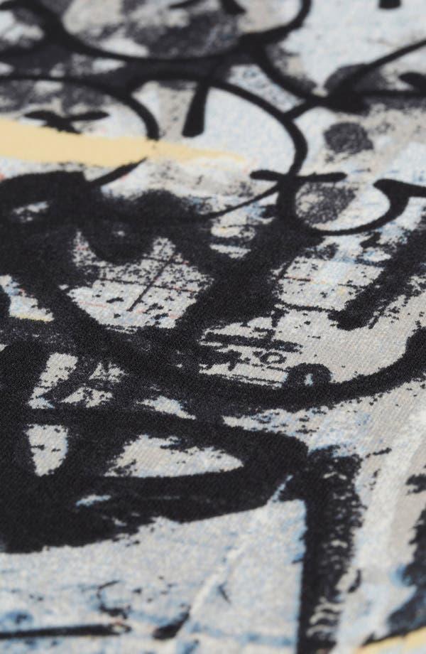 Alternate Image 3  - Topshop 'Graffiti Scuba' Leggings