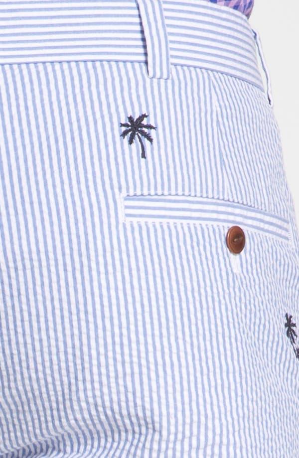 Alternate Image 3  - Brooks Brothers 'Luau' Bermuda Fit Seersucker Shorts