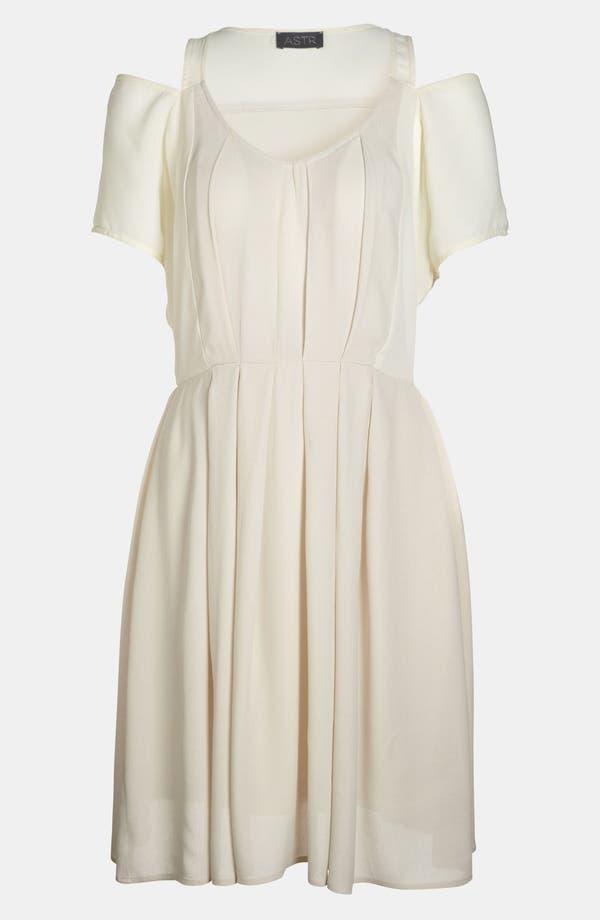 Alternate Image 1 Selected - ASTR Cutout Shoulder Dress