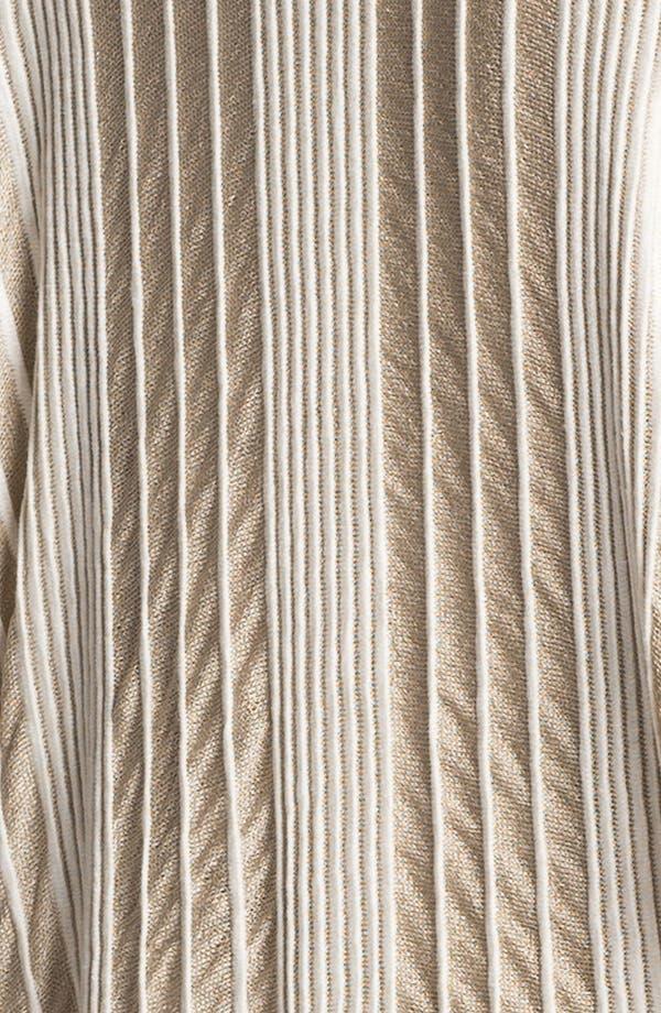 Alternate Image 3  - Lafayette 148 New York Pintuck Stripe Open Cardigan