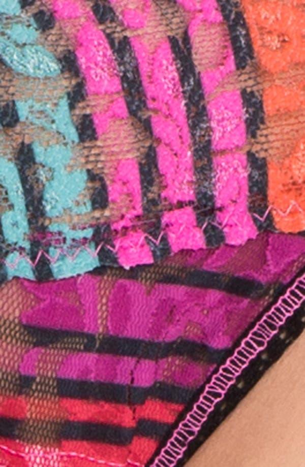 Alternate Image 5  - Hanky Panky Licorice Stripe Low Rise Thong