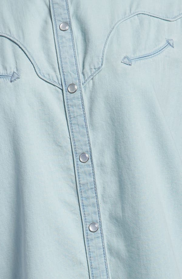 Alternate Image 4  - Leith Chambray Western Shirt