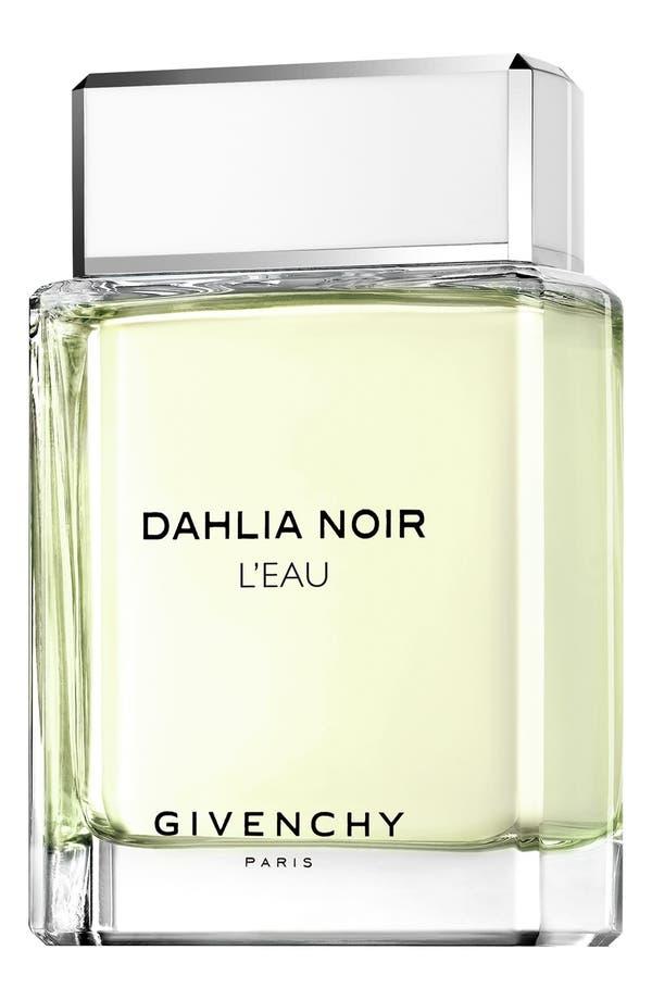 Main Image - Givenchy 'Dahlia Noir 'L'Eau' Eau de Toilette