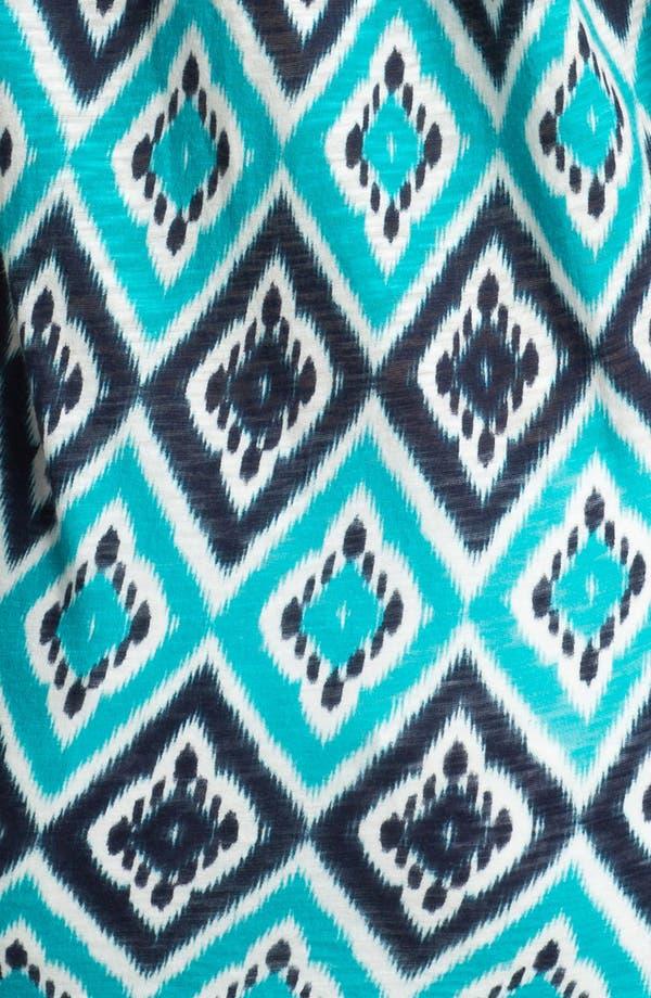 Alternate Image 3  - Lucky Brand 'Ikat Diamond' Cotton Top