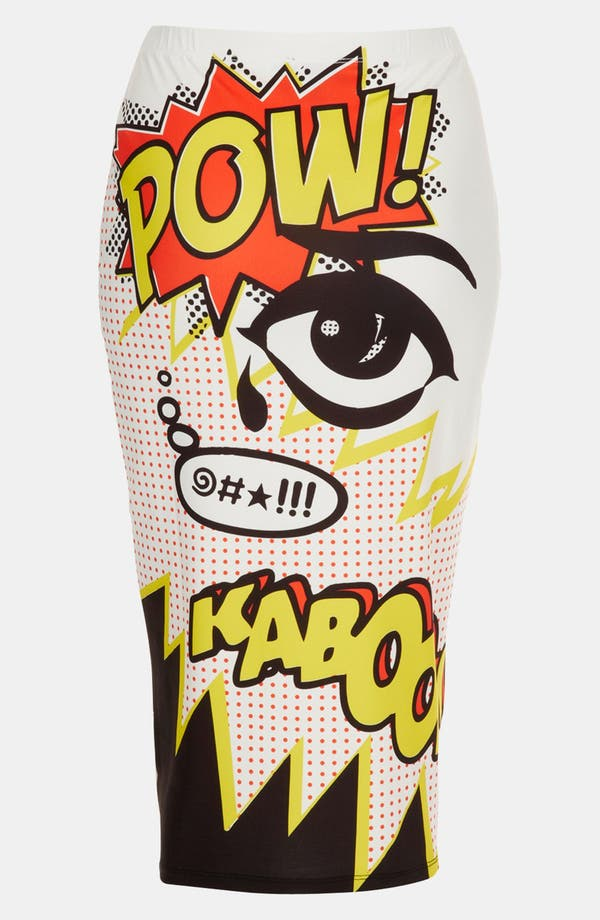 Alternate Image 1 Selected - Topshop 'Kaboom' Tube Skirt