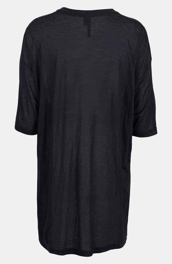 Alternate Image 2  - Topshop Boutique Modal & Cashmere V-Neck Tee
