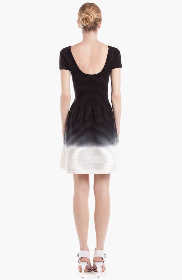 Alternate Image 2  - sandro 'Ratafia' Cotton Fit & Flare Dress