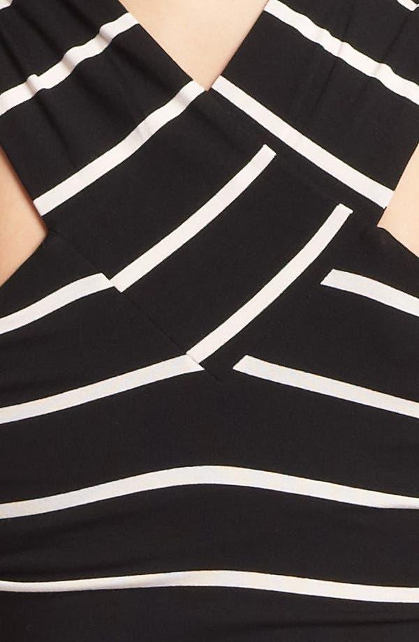 Alternate Image 3  - Ted Baker London Crisscross Stretch Midi Dress