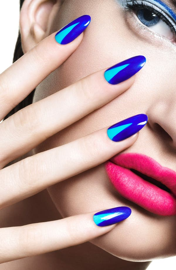 'Poppy Blue' Nail Lacquer,                             Alternate thumbnail 3, color,