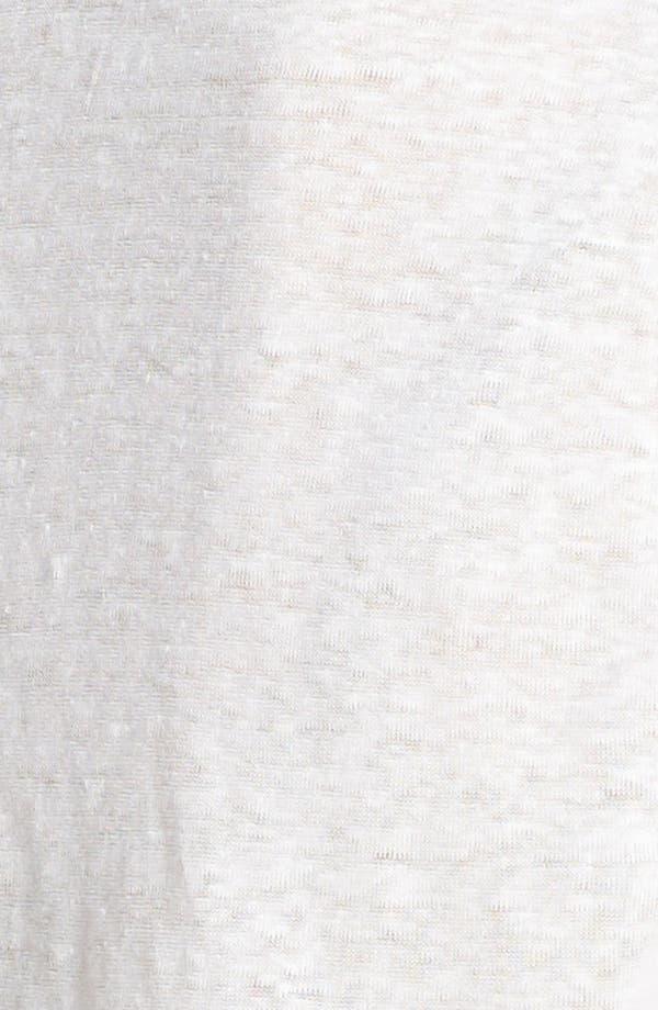 Alternate Image 3  - Joie 'Junie' Burnout Linen Tee