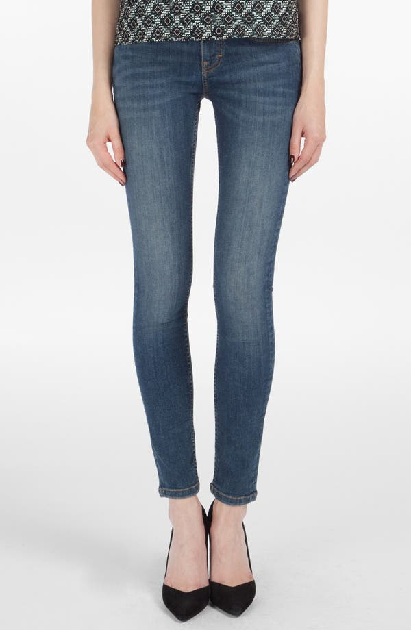 Alternate Image 1 Selected - maje 'Robin' Ankle Stretch Skinny Jeans
