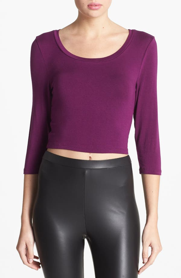 Alternate Image 1 Selected - Leith Jersey Crop Top